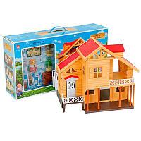 """Будиночок для ляльок """"Щаслива сім'я"""" 012-03, фото 1"""