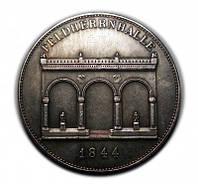 Талер 1844 Зал полководцев Людвиг I №264 копия