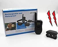Электронный ошейник для тренировки собак Dog Training на аккумуляторе