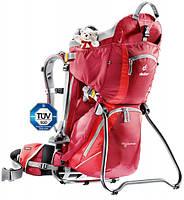 Рюкзак-переноска для детей Deuter Kid Comfort 2 cranberry/fire (36514 5560)