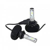 Лампи світлодіодні SVS S1 HB3 (9005) 6000K 4000Lm (2 шт)