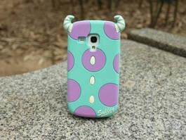 Объемный 3D силиконовый чехол для Samsung s4 mini Galaxy i9190 Салли