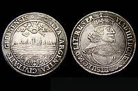 1 талер 1643 года КОРОННЫЙ ТАЛЕР ВЛАДИСЛАВА IIII №269 копия, фото 1