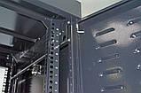"""Шкаф 19 """" 42U , 610х675 мм ( Ш * Г ) , усиленный , черный, фото 6"""