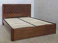 """Кровать двуспальная деревянная """"Джулия""""- kr.dg"""