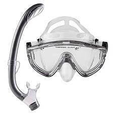 Набор для плавания Dolvor М171P+SN59P, маска трубка, 8+, фото 3