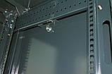 """Шкаф 19 """" 42U , 610х675 мм ( Ш * Г ) , усиленный , черный, фото 7"""