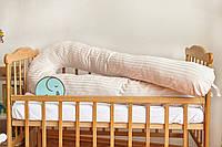 Подушка для беременных 3 в 1 U, PREMIUM 170 см, ТМ Добрый сон, бежевая, 13-06/32