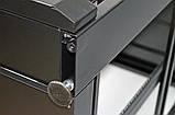 """Шкаф 19 """" 42U , 610х675 мм ( Ш * Г ) , усиленный , черный, фото 9"""