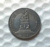 1 талер 1835 Бавария Серебро 1835 №273 копия