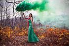 Цветной дым Зеленый Smoking Fountain GREEN Maxsem оригинал!, фото 4