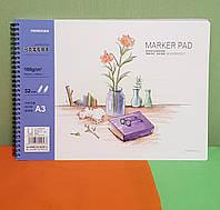 Скетчбук (Альбом для рисования) формат А3 плотность бумаги 160g/m