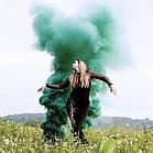 Цветной дым Зеленый Smoking Fountain GREEN Maxsem оригинал!, фото 3