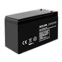 12V аккумулятор свинцово-кислотного типа, необслуживаемый корпус, емкость 9,0Ач