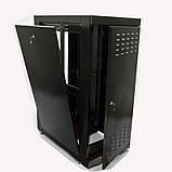 """Шкаф 19 """" 33U , 610х1055 мм ( Ш * Г ) , черный, фото 4"""