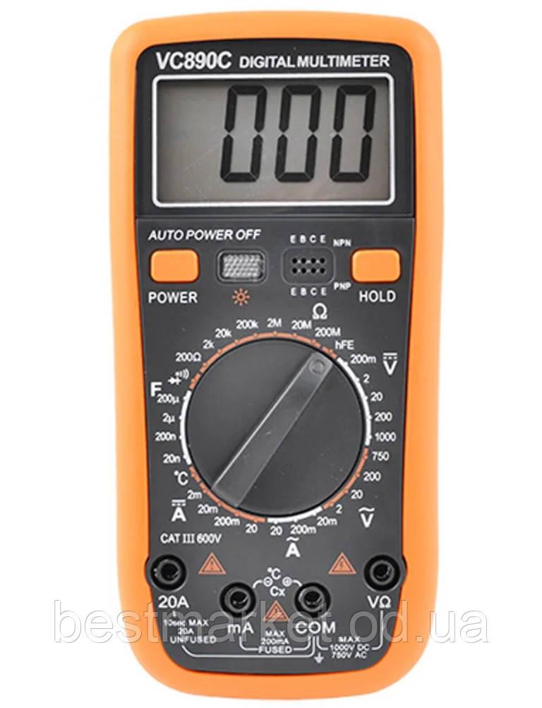 Мультиметр Тестер Цифровой VC - 890C