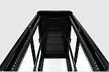 """Шкаф 19 """" 33U , 610х1055 мм ( Ш * Г ) , черный, фото 9"""