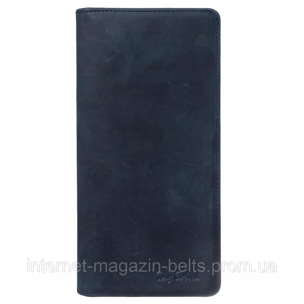 Портмоне шкіра Tony Bellucci 873-03 синій нубук