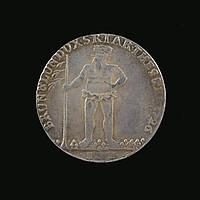 Талер 1726 года Брауншвейг Георг 1 копия монеты в серебре №278 копия