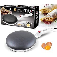 Блинница SinboCrepe Maker RM 5208 с антипригарным покрытием