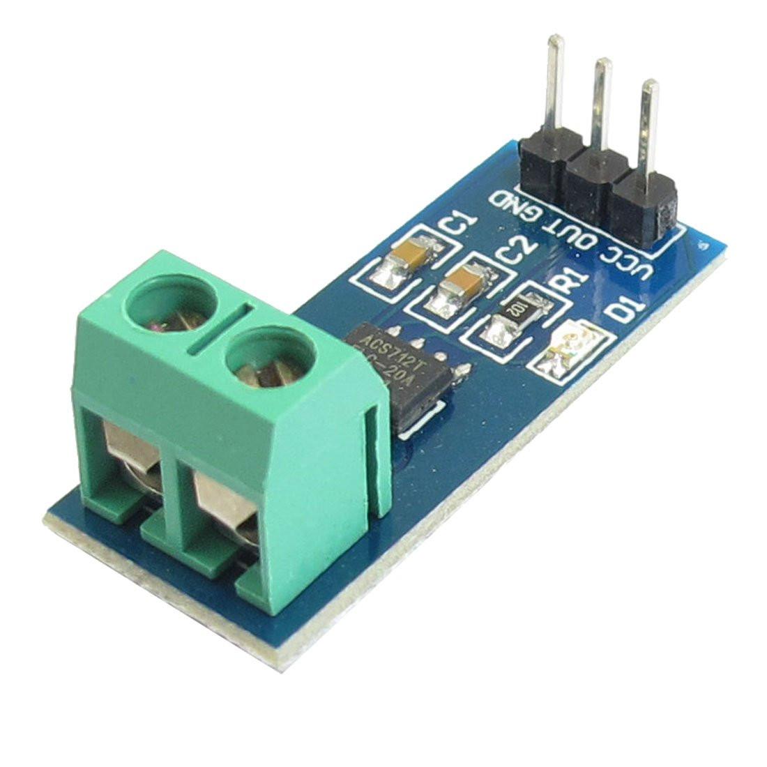 Датчик тока 5А ACS712, эфф. Холла, модуль Arduino