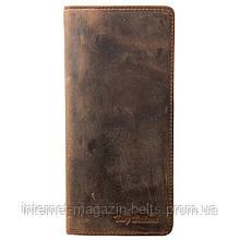 Портмоне шкіра Tony Bellucci 873-06 коричневий нубук