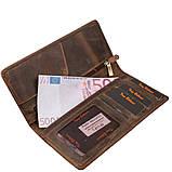 Портмоне кожа Tony Bellucci 873-06 коричневый нубук, фото 3