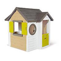 Домик лесничего Smoby Toys со ставнями и круглыми окнами (810406)