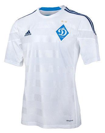 Футболка игровая домашняя Adidas Динамо Киев, фото 1