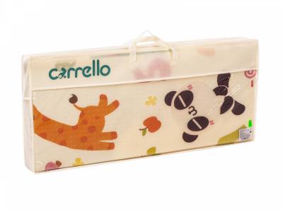 Розвиваючий двосторонній складаний дитячий ігровий термоковрик для повзання Carrello Ростомір 200x180x1 см