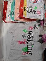 Підліткова трикотажна футболка для дівчинки Wedding 8-11 років, колір уточнюйте при замовленні