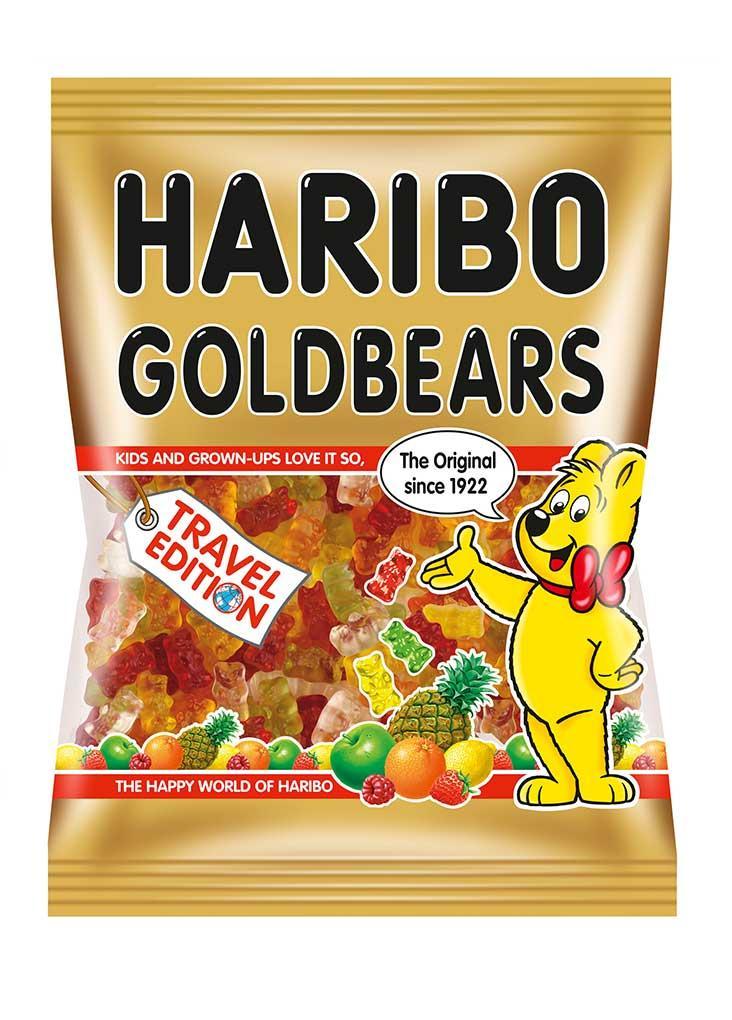 Жевательный мармелад Haribo Goldbaren Travel Edition 500 g