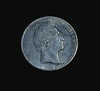 Талер 1835 года Людвиг 1 копия монеты в серебре №286 копия