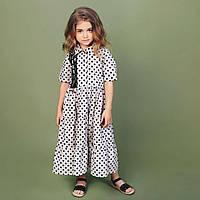 Длинное платье  для девочки тм mone р-р 110,146,152