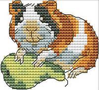 Набор для вышивания крестом 10х9 Хомячок Joy Sunday D990, фото 1