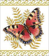 Набор для вышивания крестом 26х28 Бабочка Joy Sunday DA049, фото 1
