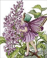 Набор для вышивания крестом 31х36 Цветочная фея Joy Sunday R467, фото 1