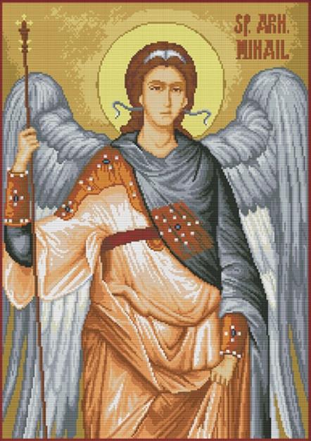 Набір для вишивання хрестом 44х59 Архангел Михайло Joy Sunday R902