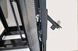 """Шкаф 19 """" 42U , 800х865 мм ( Ш * Г ) , усиленный , перфорированные двери ( 66 % ) , черный, фото 8"""