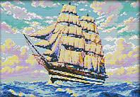 Набір для вишивання хрестом 40х30 Корабель на хвилях Joy Sunday F794, фото 1