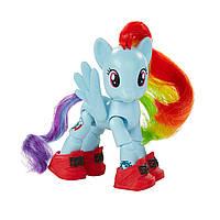 Набір My Little Pony фігурка поні Рейнбоу Деш артикуляцією Hasbro B3598