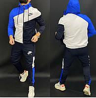 Мужской спортивный костюм двойка кофта на молнии+штаны двухнить размеры:46,48,50,52