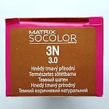 3N (темный шатен) Стойкая крем-краска для волос Matrix Socolor.beauty,90 ml, фото 2