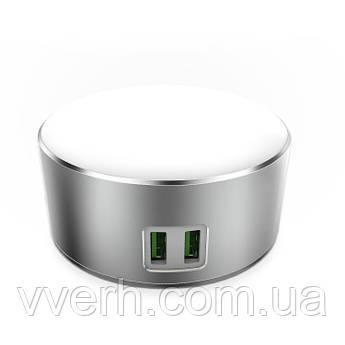 Led Лампа LDNIO A2208 (2.4 W) (+2 USB)