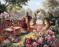 Картина малювання за номерами Mariposa Райський сад Q1442 40х50см Худ. Бренду Берк набір для розпису, фарби,