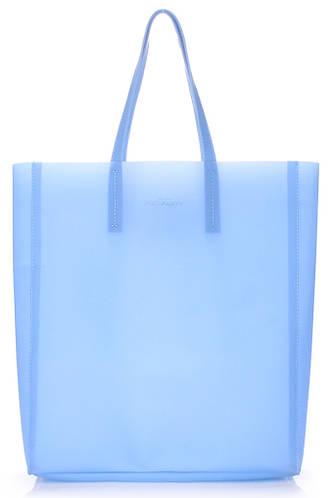 Силиконовая сумка POOLPARTY Gossip city-gossip-blue голубая