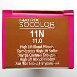 11N (ультра светлый блондин) Стойкая крем-краска для волос Matrix Socolor.beauty,90 ml, фото 2