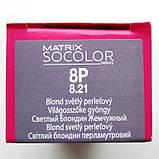 8P (светлый блондин жемчужный) Стойкая крем-краска для волос Matrix Socolor.beauty,90 ml, фото 2