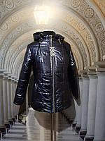Куртка блестящая женская (58,60 р)