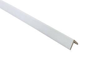 "Гибкий угол (планка складная) 45х3,2мм 2,6м МДФ ""Белый классический"""